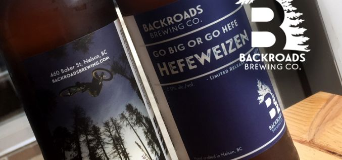 Backroads Brewing Company Releases Go Big or Go Hefe