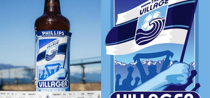 Whitecaps FC Teams Up With Phillips on Villager Kölsch
