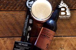 Backroads Brewing Releases Nebestrasse Marzen
