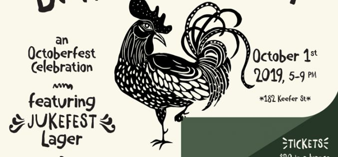 Strange Fellows' Jukefest Beer Release & Bawktobeerfest Collaboration with Juke