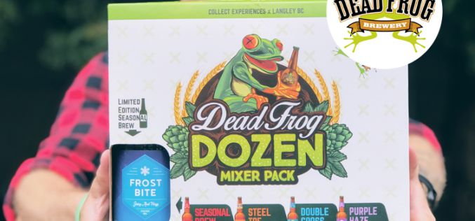 Dead Frog Launches New Mixer and Four New Brews At 1 Year Anniversary Party