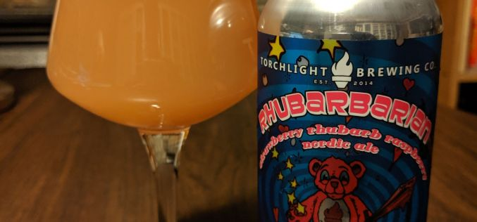 Torchlight Brewing – Rhubarbarian