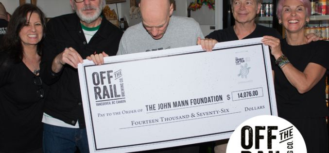 Off The Rail Brewing Gives Back In Raising The Spirits for John Mann of Spirit of the West