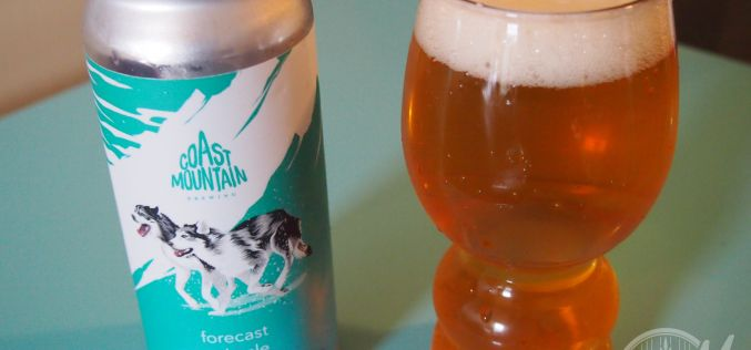 Coast Mountain Brewing- Forecast Pale Ale