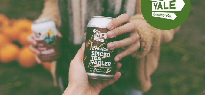 Old Yale Brewing Releases Fireside Spiced Tea Radler