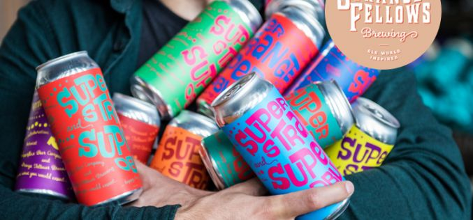 """Strange Fellows and Superflux Release Collaboration Beer """"Super Strange and Super Obvious"""""""
