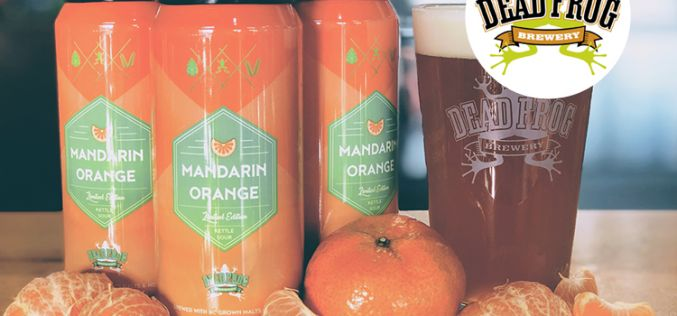 Dead Frog Brewery Releases Mandarin Orange Kettle Sour for the Holidays