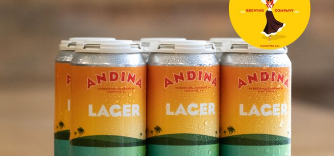 Andina Brewing Releases Sabrosa Lager