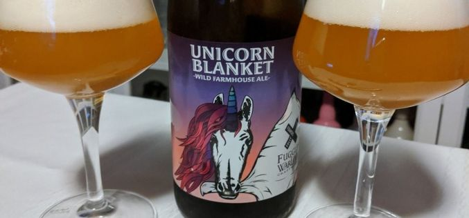 Foamers Folly x Fuggles & Warlock – Unicorn Blanket Wild Farmhouse Ale
