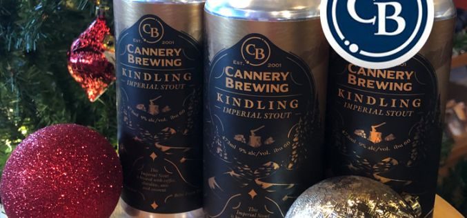 Cannery Brewing Releases Kindling Imperial Stout