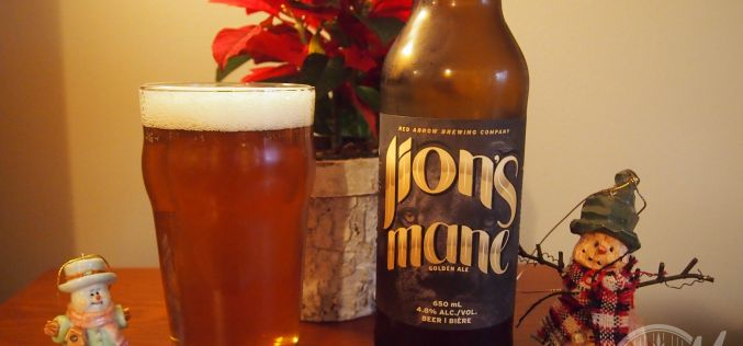 Red Arrow Brewing Co – Lion's Mane Golden Ale
