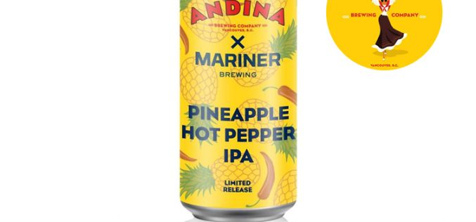 Andina Brewing Co. Releases Piñata – Pineapple Hot Pepper IPA