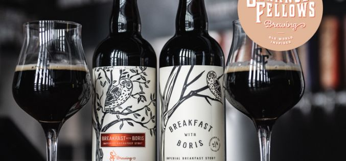 Strange Fellows Brewing Releases Breakfast with Boris