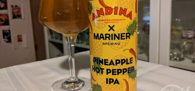 Andina x Mariner – Piñata Pineapple Hot Pepper IPA