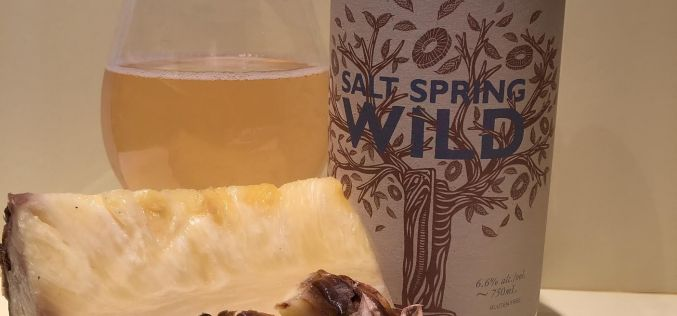 Salt Spring Wild Cider – Pineapple Amaro