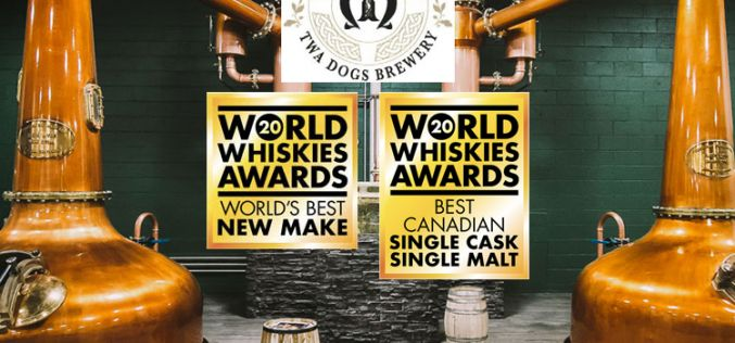 Canadian Craft Distillery Wins World's Best and Canadian Best at World Whiskies Awards