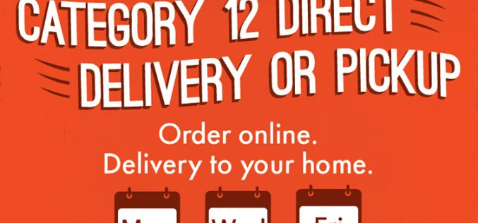Category 12 Brewing Offers Direct Delivery or Pickup
