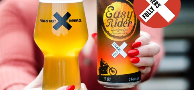Foamers' Folly Brewing's Easy Rider Tangerine Session Ale Release Party