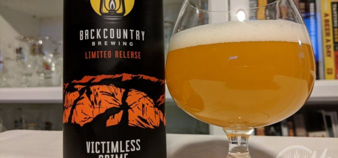 Backcountry Brewing – Victimless Crime Nelson IPA