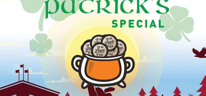 ST. PATRICKS DAY SPECIAL: 4 Leaf Clover Ticket Packages 🍻