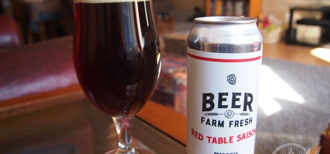 Persephone Brewing Co.- Red Table Saison