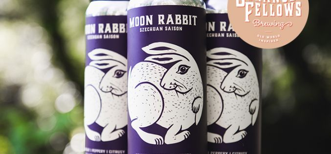 Strange Fellows' Limited Release of Moon Rabbit Szechuan Saison