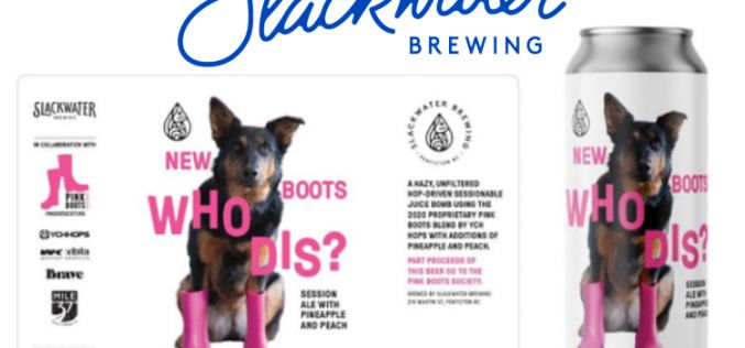 "Slackwater Brewing Releases ""New Boots, Who Dis? for Pink Boots Society"