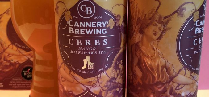 Cannery Brewing – Ceres Mango Milkshake IPA