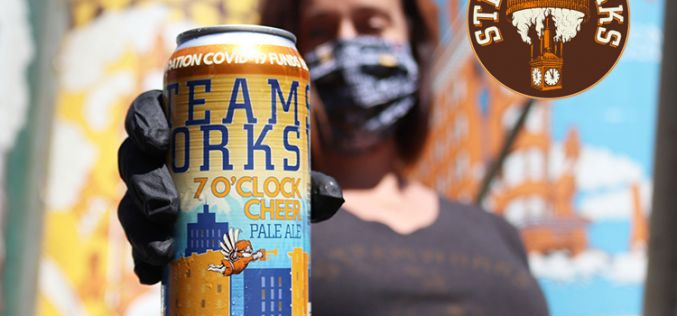 "Steamworks Releases ""7 O'clock Cheer Pale Ale"" In Support Of Health Care Heroes"