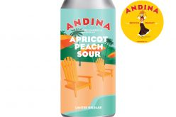Andina Brewing Releases SEDOSA Apricot Peach Sour