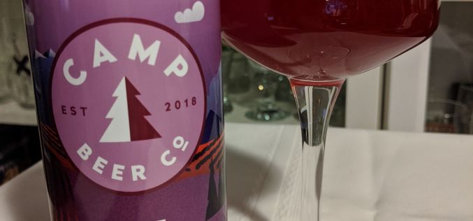 Camp Beer – The Forager Bumbleberry Sour