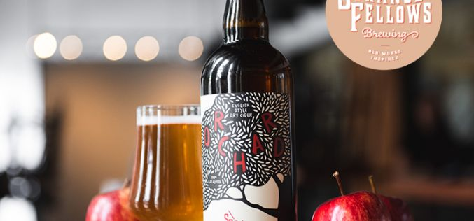 Strange Fellows Brewing Releases Orchard English-Style Dry Cider