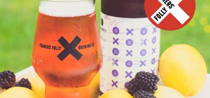 Foamers' Folly Brewing Releases Blackberry Lemoncello Sour Ale