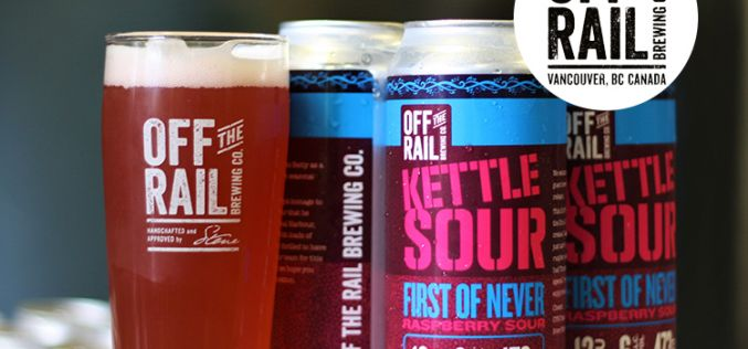 Off The Rail Brewing Releases First of Never Raspberry Sour