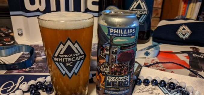 Phillips Brewing – Village Hero Dry Hopped Wheat