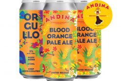 Andina Brewing Releases Orgullo 🌈 Blood Orange Pale Ale