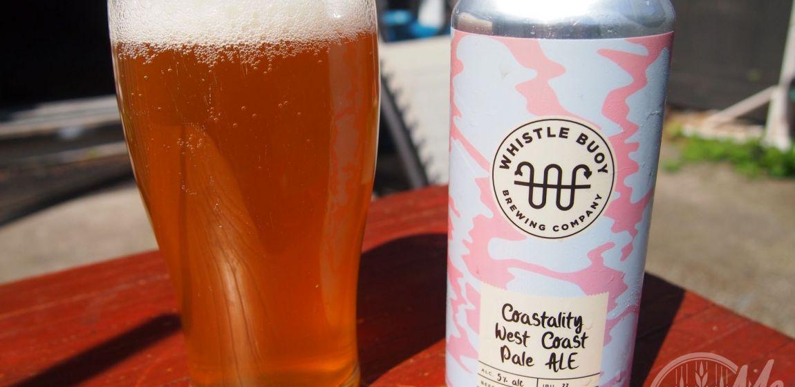Whistle Buoy Brewing Co- Coastality West Coast Pale Ale