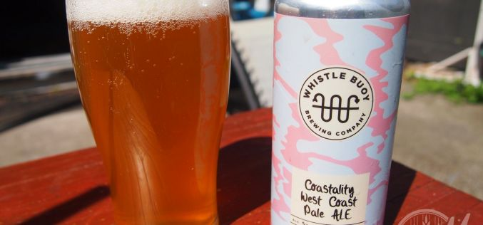 Whistle Buoy Brewing Co- Coastality West Coast Pale Ale