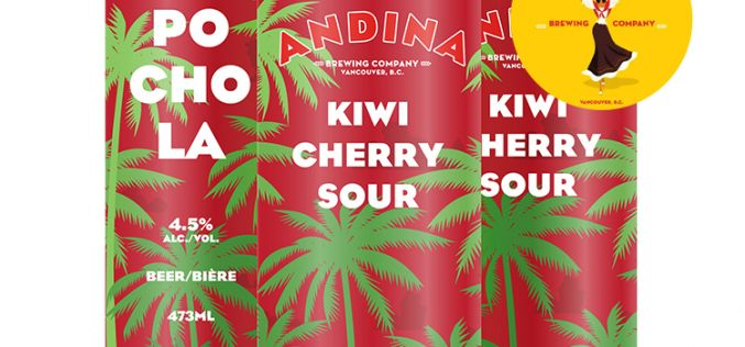 Andina Brewing Releases POCHOLA – Kiwi 🍒 Cherry Sour
