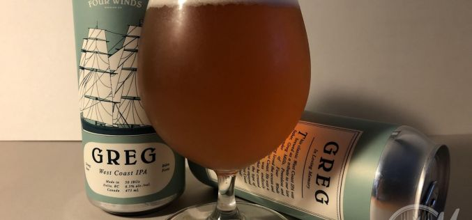 Four Winds Brewing – Greg West Coast IPA
