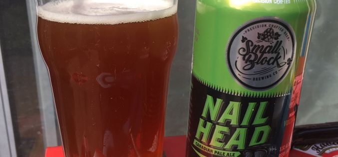 Small Block Brewing- Nail Head Canadian Pale Ale