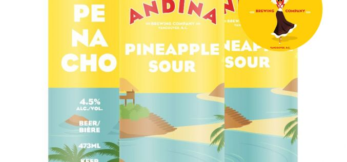 PENACHO Pineapple Sour from Andina Brewing 🍍 Available Monday Aug 31