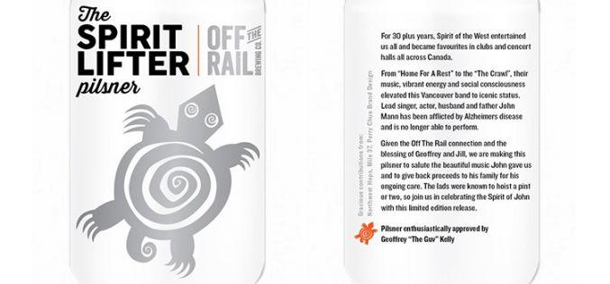 Off The Rail Brewing Co. Raises a Final Glass of The Spirit Lifter Pilsner