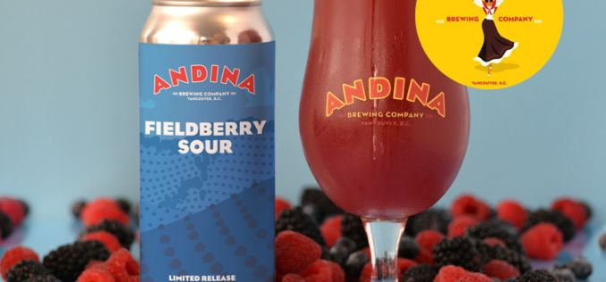 Andina Brewing Releases ARBUSTO – Fieldberry Sour