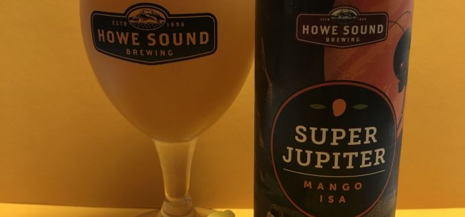 Howe Sound Brewing – Super Jupiter Mango ISA