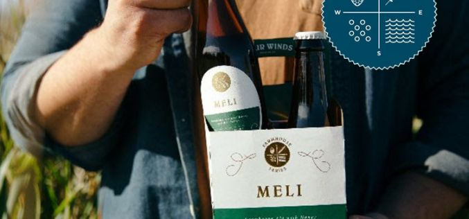 Four Winds' Meli Farmhouse Ale with Honey and Bee Pollen