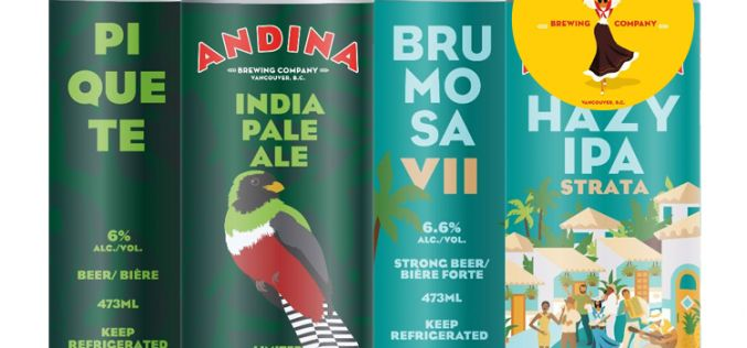 Andina Brewing Releases Two New Beers!