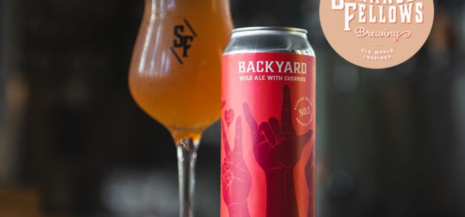 Strange Fellows Brewing Releases Backyard Wild Ale (Helping Hands Project Series)