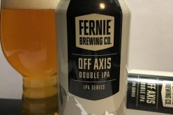 Fernie Brewing – Off Axis Double IPA