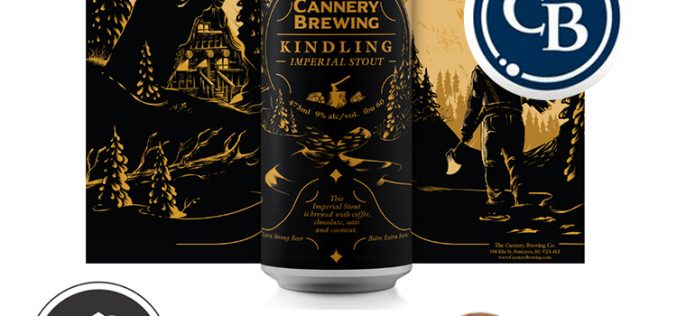 Ramp up the warmth with Cannery Brewing's Kindling Imperial Stout